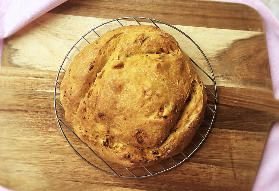 coriander and sweet potato bread recipe