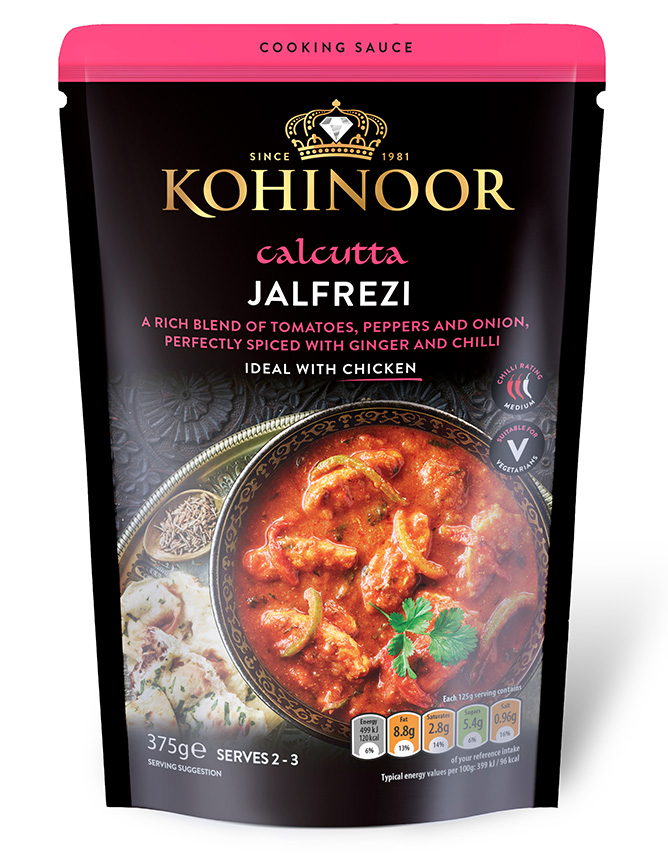 Jalfrezi cooking sauce