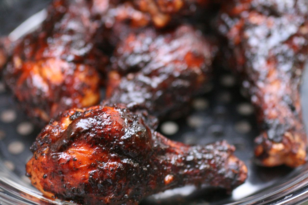 Spicy Kolhapuri Barbecued Chicken Recipe